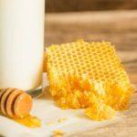 خواص شیر و عسل