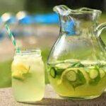 طرز تهیه لیموناد و خیار