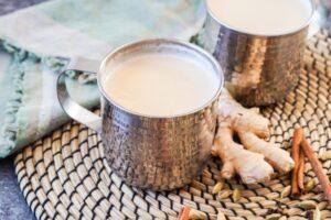طرز تهیه شیر زنجبیل